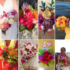 Simple Kona Beach Weddings Bouquets