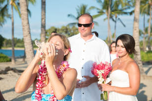 CONCH SHELL SIMPLE KONA BEACH WEDDINGS