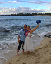 Simple Kona Beach Weddings